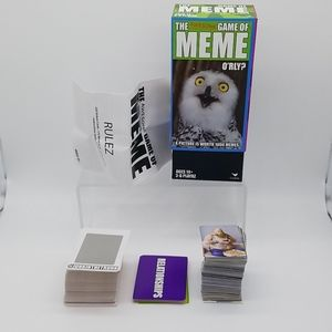 Unused The Awesome Game Of Meme Card Game